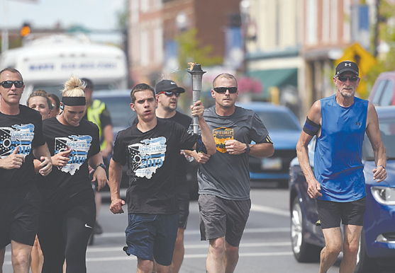 Special Olympics Torch Run comes to Findlay – Blanchard